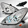 2005 Lexus ES330  CCFL Halo Chrome Projector Headlights