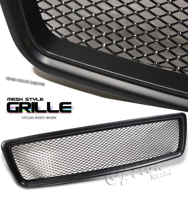 Volvo S70 1997-2000  Mesh Style Black Front Grill