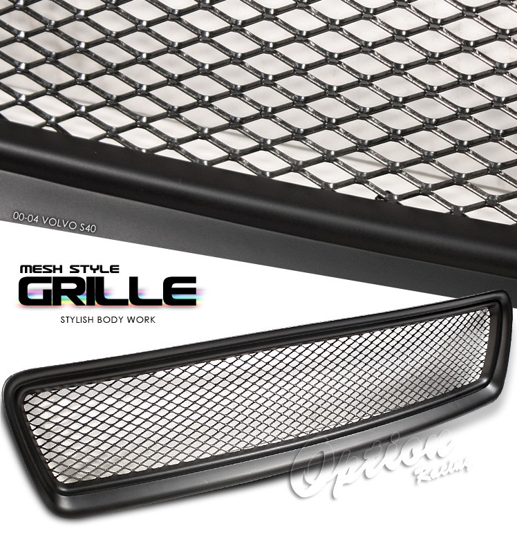 Volvo S40 1997-2004  Mesh Style Black Front Grill
