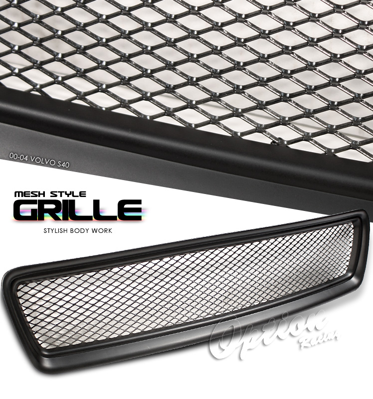Volvo S40 1997-2004  Mesh Style Chrome Front Grill