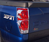 Chevrolet Avalanche / Cadillac Escalade EXT 02-06 Chrome Tail Light Trim Bezel