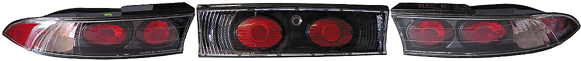 Mitsubishi Eclipse 95-99 Altezza Carbon Fiber Tail Lamps