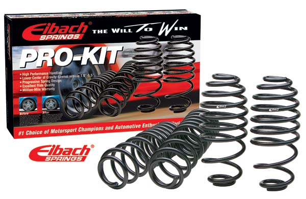 Audi S4 Sedan 2.7 T 1999-2003 Pro-Kit Performance Lowering Springs