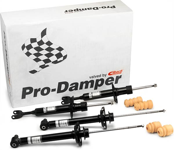 Audi A4 Sedan, 2wd 4 Cyl.  2001-2008 Pro-Damper Kit (Performance Shocks)