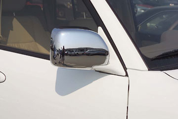 Toyota Land Cruiser 98-04 Chrome Mirror Covers