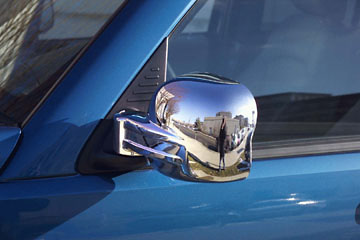 Jeep Liberty  2002-2007, Full Chrome Mirror Covers