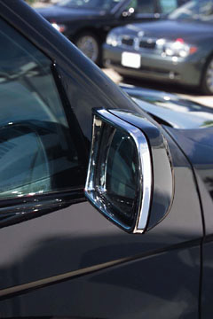 BMW X5 2000-2006 Chrome Mirror Covers by Putco