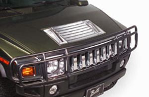 Hummer H2 03-06 Chrome Hood Vent Cover