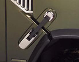 Hummer H2 03-06 Chrome Hood Hinge Covers