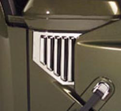 Hummer H2 03-06 Chrome Side Vent Covers