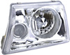 1999 Ford Ranger  Projector Headlights with Chrome Housing/Clear Lens