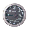 APEXi EL Boost Gauge Mechanical Black (PSI) 60mm Series - Universal