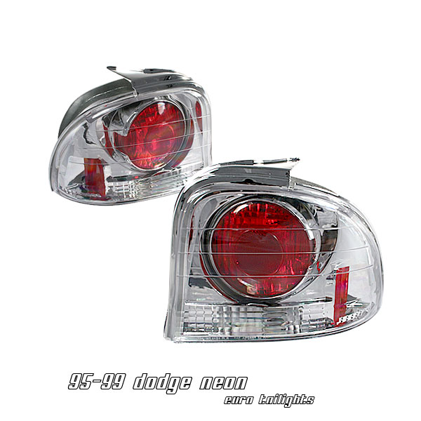 Dodge Neon 1995-1999  Chrome Euro Tail Lights