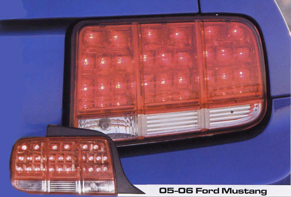 Ford Mustang 05-06 APC LED Tail Lights