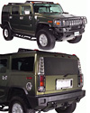 2003 Hummer H2  Complete Chrome Trim Kit