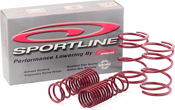 Ford Mustang Shelby Gt500 Coupe 5.4l V8 Supercharged 2007-2010 Sportline Lowering Springs