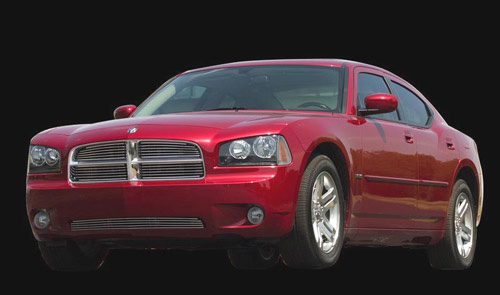 2006-2008 Dodge Charger CarriageWorks Polished Bumper Grill