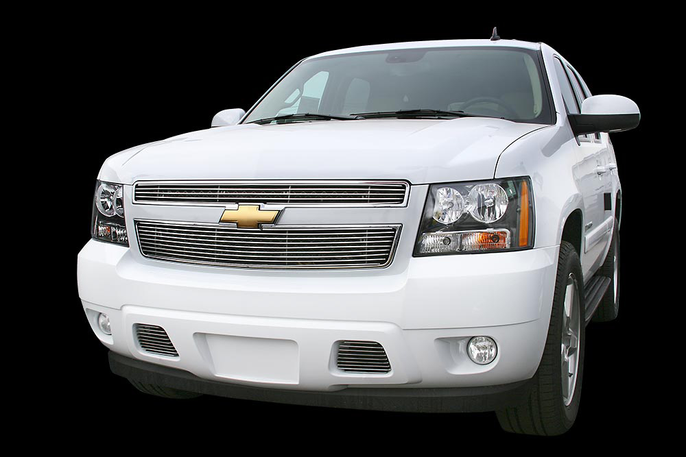 Chevrolet Tahoe 2007 Polished Grill Insert