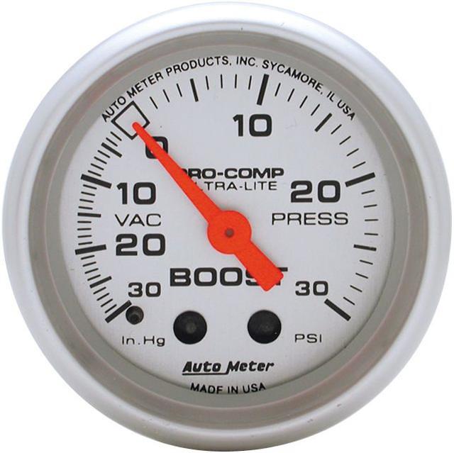 Auto Meter 2-1/16 inch Boost Gauge