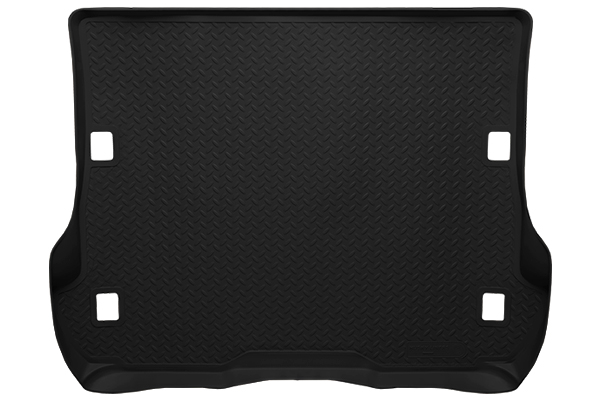 Lincoln Mks  2009-2012 ,  Husky Weatherbeater Series Trunk Liner - Black