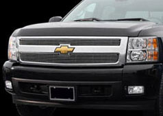 2007 Chevrolet Silverado Polished Billet Grille