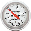 Auto Meter Ultra-Lite 2-1/16 inch Vacuum and Boost Gauge