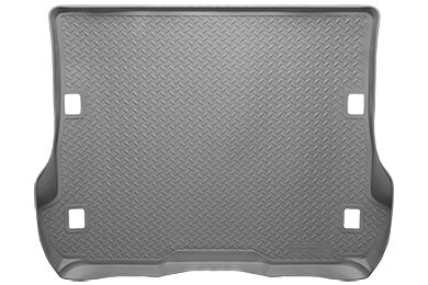 Toyota Prius 2012-2012 V,  Husky Weatherbeater Series Trunk Liner - Gray