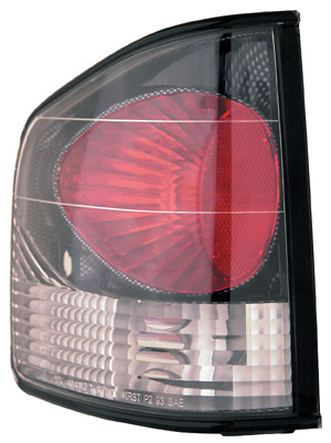 Chevrolet S-10 94-2004 Carbon Fiber Altezza Style Clear Tail Lamps