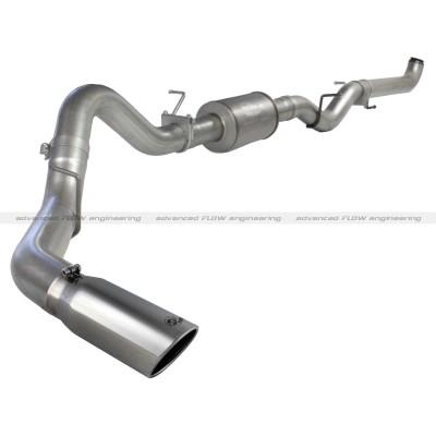 "Chevrolet Silverado Diesel 6.6l 2001-2007 Afe Atlas Down Pipe Exhaust System (4"")"