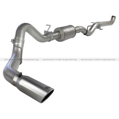 "Gmc Sierra Diesel 6.6l 2001-2007 Afe Mach Force-Xp Down Pipe Exhaust System (4"")"