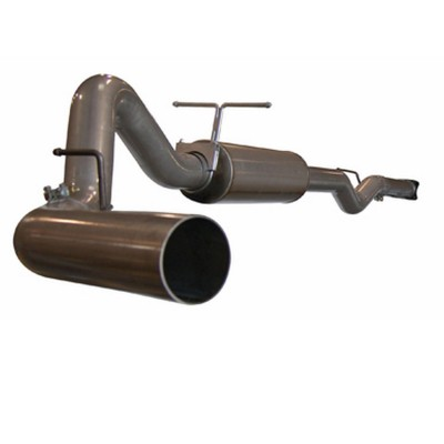 "Chevrolet Silverado Diesel 6.6l 2006-2007 Afe Large Bore-Hd Cat Back Exhaust System (4"")"