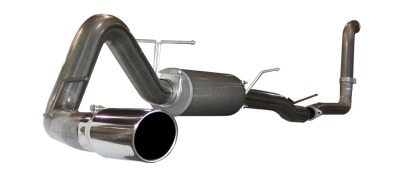 "Ford Super Duty F-250/350 Diesel 6.0l 2003-2007 Afe Mach Force-Xp Turbo Back Exhaust System (3.5/4"")"