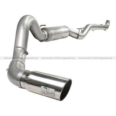 "Chevrolet Silverado Diesel 6.6l 2007-2010 Afe Mach Force-Xp Turbo Back Exhaust System (5"")"