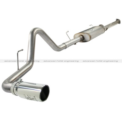 "Toyota Tundra  5.7l 2010-2011 Afe Mach Force-Xp Cat Back Exhaust System (3"")"