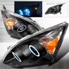2008 Honda Crv   Black Ccfl Halo Projector Headlights