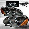 Chrysler Sebring Coupe  2003-2005 Black Ccfl Halo Projector Headlights