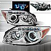 2004 Scion TC   Chrome Ccfl Halo Projector Headlights