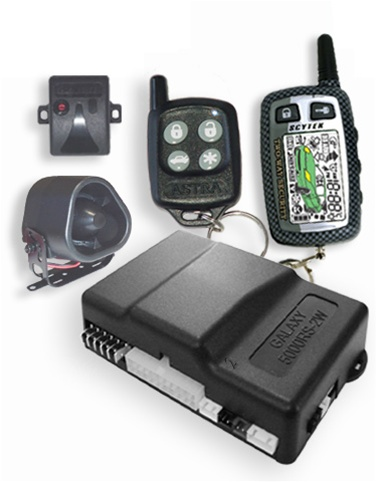 Scytek 5000RS + - 2 Way Remote Car Starter, Car Alarm, Keyless Entry Combo with LCD Pager