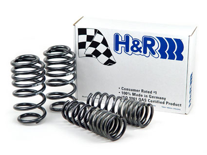 Bmw 5 Series 525i, 528i, 530i 1996-2003 E39 H&amp;R Sport Lowering Springs