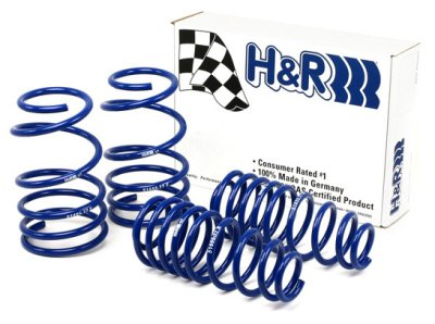 Ford Mustang Convertible 2010-2010 V6, V8 H&R Super Sport Lowering Springs