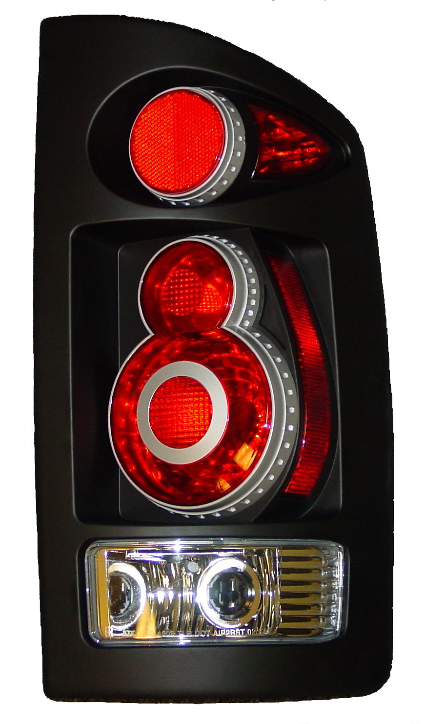 Dodge Ram 2002-2006 Retro 3D Euro Tail Lights
