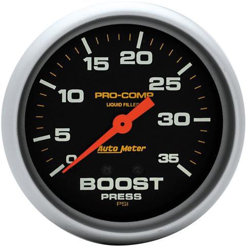 Auto Meter 35PSI Boost Gauge