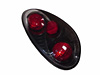 2004 Chrysler PT Cruiser Altezza Style Carbon Fiber Tail Lamps 