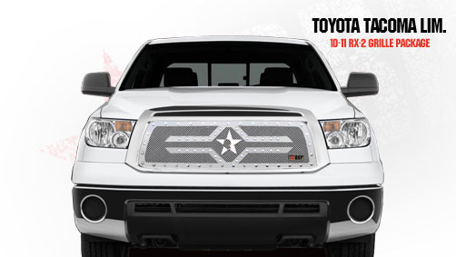 Toyota Tundra Limited/Platinum Series Only 2010-2011 - Rbp Rx-2 Series Studded Frame Main Grille Chrome