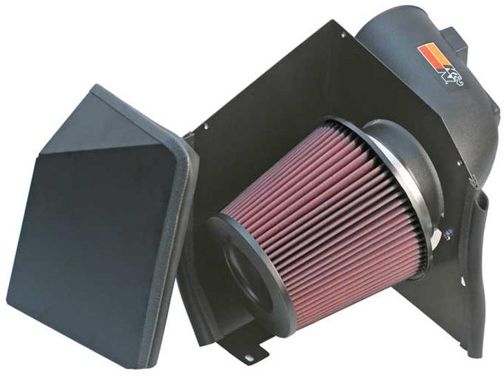 Chevrolet Silverado 2005-2005  2500 Hd 6.6l V8 Diesel W/Round Filter K&N Performance Intake
