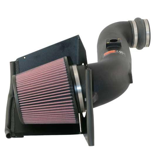 Gmc Sierra 2005-2005 3500 6.6l V8 Diesel W/Round Filter K&N Performance Intake
