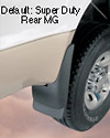 2007 Chevrolet Tahoe  Rear Mud Guards
