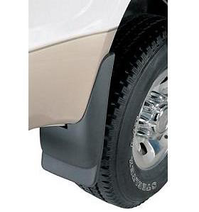 Hummer H3 2006-2007 Black Mudflaps (Rear Pair)