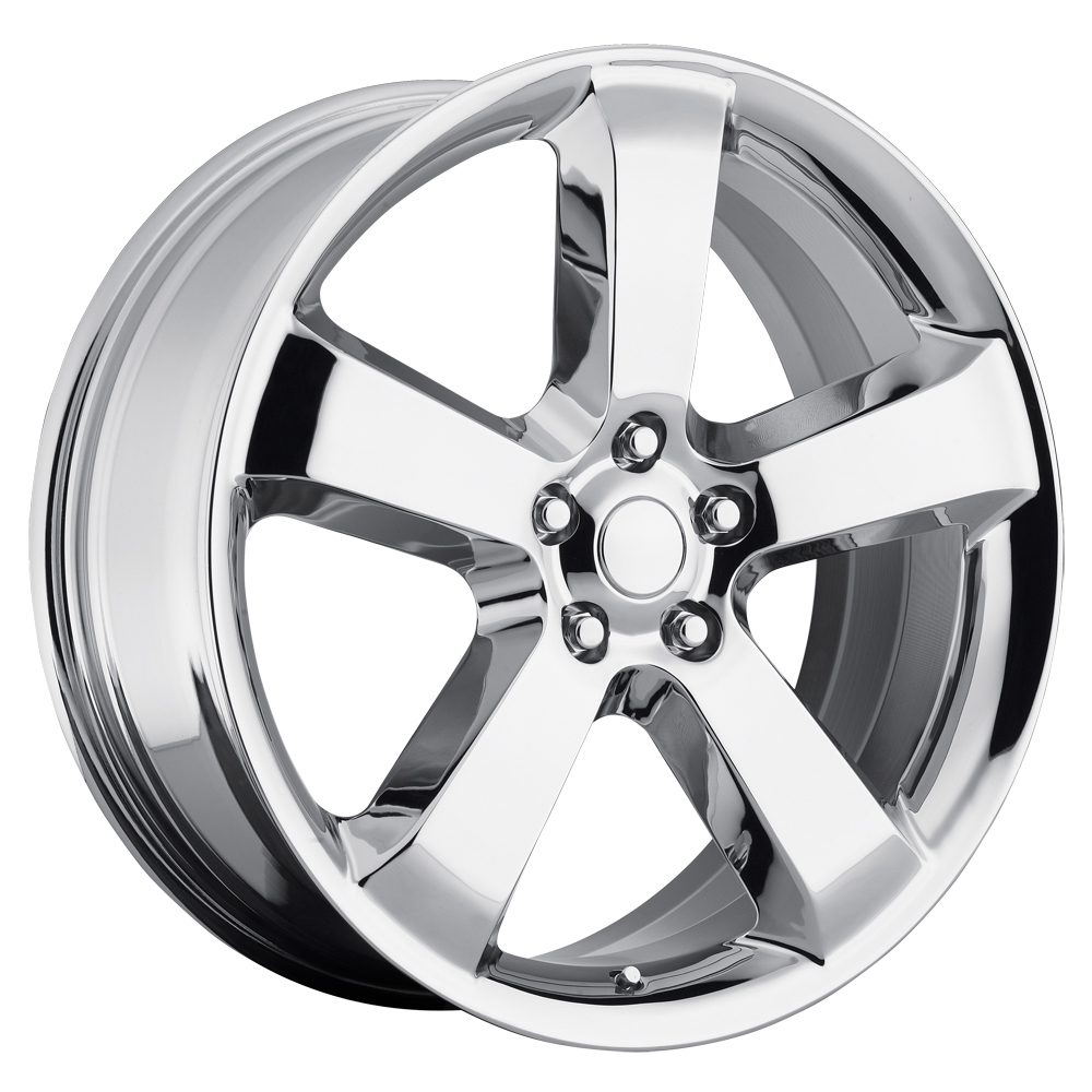 Dodge Charger 2006-2010 20x10 5x115 +18 - SRT8 Replica Wheel - Chrome With Cap