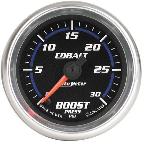 Auto Meter Cobalt 2-1/16 inch Boost Gauge